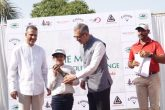 Jeev Milkha Singh as a way of giving back to the game through the Milkha Charitable trust