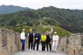 Golf Stars 'Tea' it up at Great Wall of China