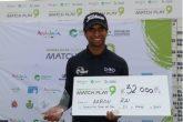 Aaron Rai Malaga Winner