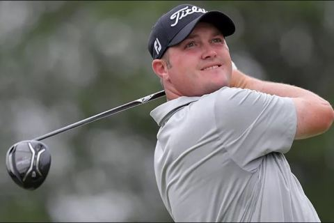 Jason Kokrak leading Rd 2 of AT & T Byron Nelson