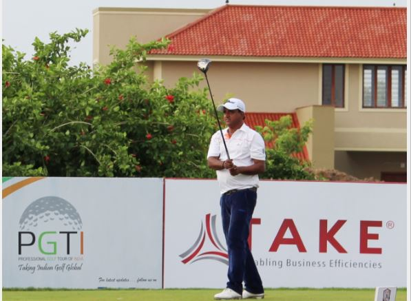 Mukesh Kumar leading rd 2 with five shot clear lead at Take classic