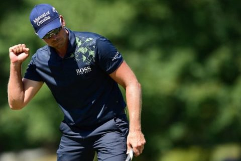 Henrik Stenson shot a final round 64 to win the Wyndham Championship
