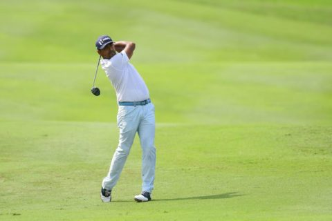 Anirban Lahiri in the final round of the CIMB Classic - PGA TOUR