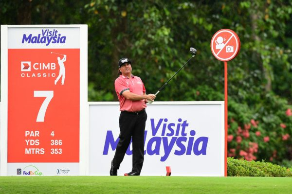 Pat Perez at the CIMB Classic