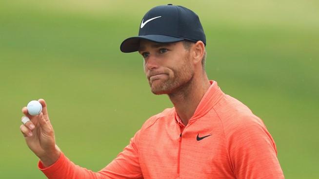 Lucas Bjerregaard leads BMW PGA Championship