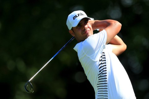 Shubhankar Sharma worked his way back with a 66 at the Colonial Country Club