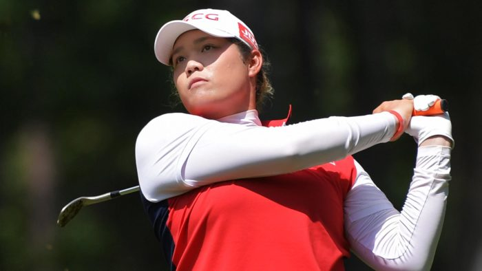 Ariya Jutanugarn shot 67 in the third round of US Women's Open