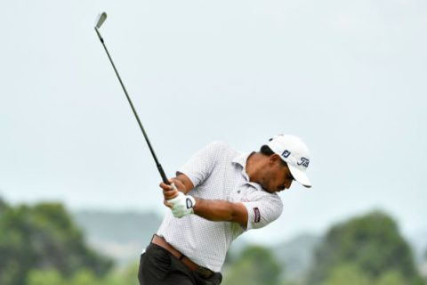 Gaganjeet Bhullar shot 68 in the first round of the Queen's Cup