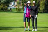 Aditi Ashok at the Evian Championship