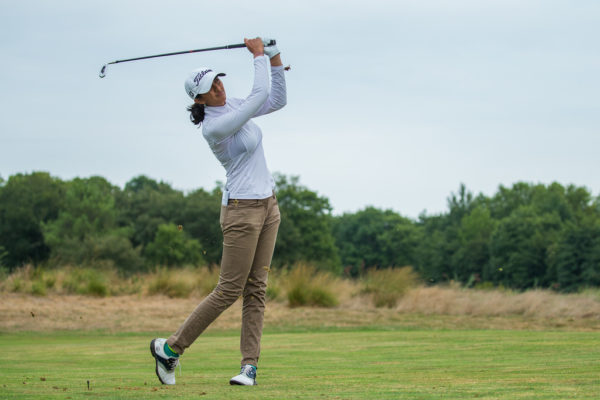 Aditi Ashok during the Pro Am at the Ladies Open de France - LET Image