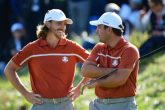 Tommy Fleetwood & Francesco Molinari in the Ryder Cup - PGA Image
