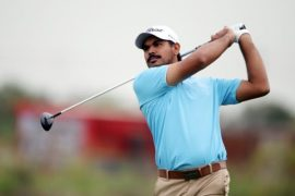 Gaganjeet Bhullar in the Shinhan Donghae Open