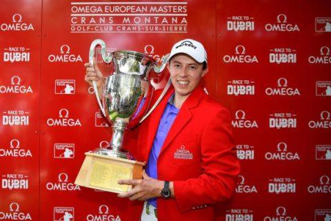 Matthew Fitzpatrick wins Omega European Masters