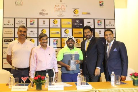 Press Conference picture of Jaipur Open 2018