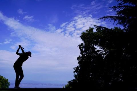 Aditi Ashok - Evian Championship - Silhouette