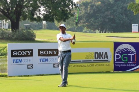 Akshay Sharma holds two-shot advantage in round three