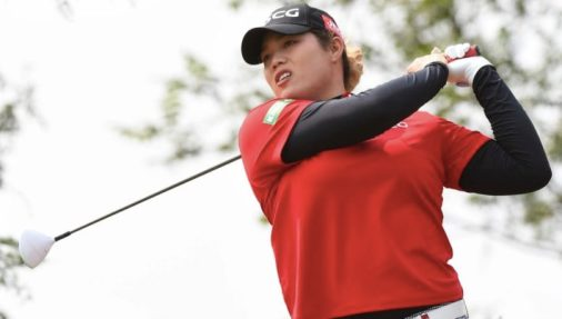 Ariya Jutanugarn at the Buick LPGA Shanghai