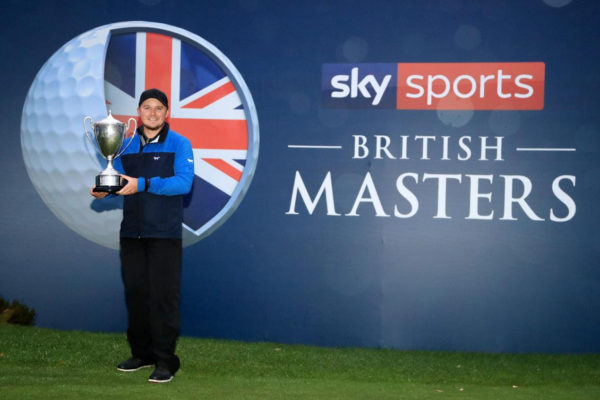 Eddie Pepperell won the British Masters