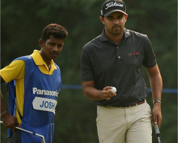 Khalin Joshi fires brilliant eight-under-par 64 in the third round of Panasonic Open India