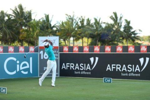 Chikkarangappa was piping hot during his 64 at the Mauritius Open