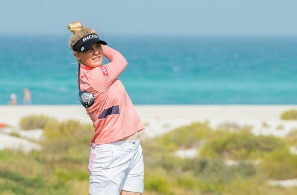 Charley Hull leads rd 1 of Fatima Bint Mubarak Ladies Open