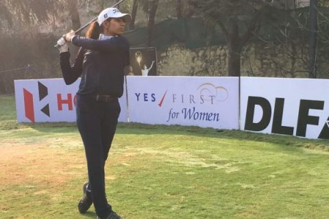Diksha Dagar leads rd 1 at first leg of Hero WPGT
