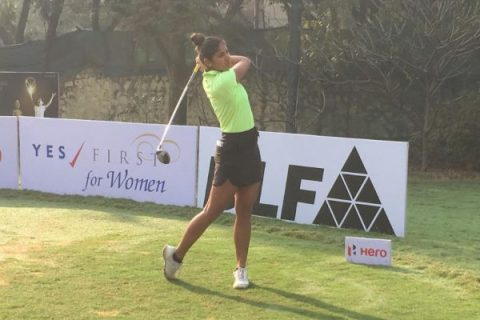 Neha Tripathi leads rd 2 of First leg of Hero WPGT 2019