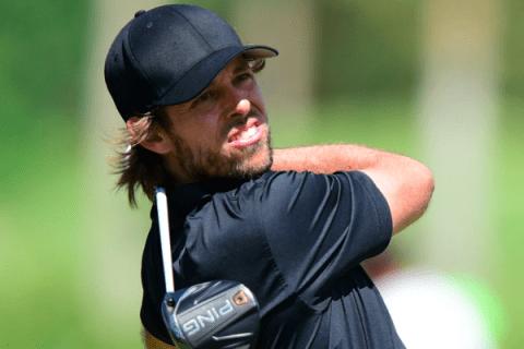 Aaron Baddeley shot into the lead in Puerto Rico Open