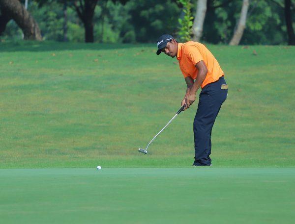 Akshay Sharma - Round 2 leader