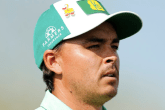Rickie Fowler has a share of the lead at the Phoenix Open