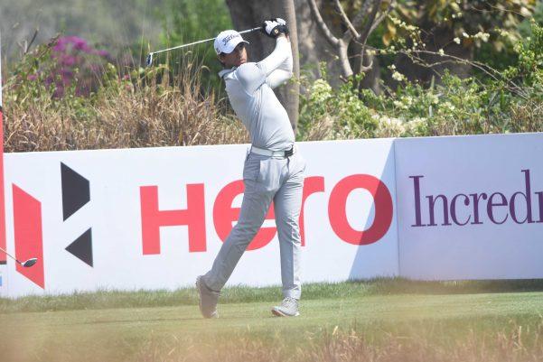 Aaron Rai at Hero Indian Open 2018
