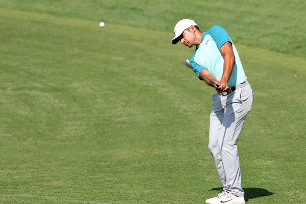 Julian Suri during the third round of the Hero Indian Open