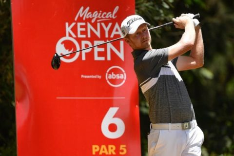Justin Harding is playing the Kenya Open with an eye on the Masters