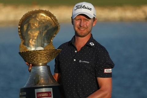 Justin Harding wins the Qatar Masters