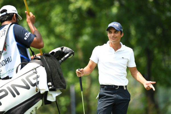 Ajeetesh Sandhu at the Bangabandhu Cup