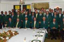 Champions Dinner - Masters 2019