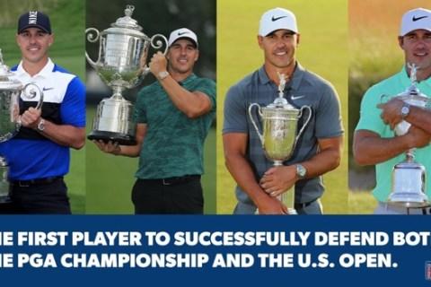 Brooks Koepka-PGA TOUR Infographic