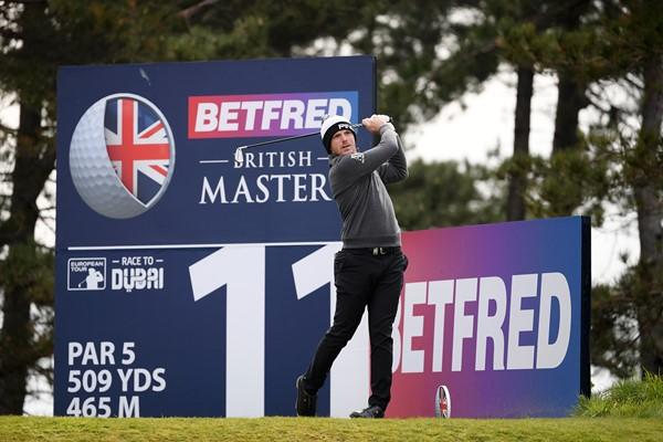Matt Wallace edges into rd 2 of British Masters Lead