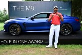 Bhullar wins BMW M8 with an hole-in-one Ace to the 17th hole
