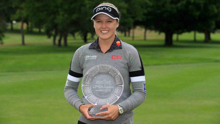 Brooke Henderson wins Meijer LPGA Classic