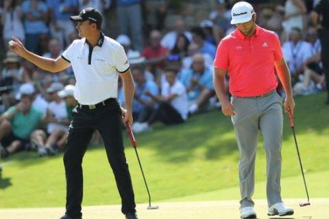 Gaganjeet Bhullar Christiaan Bezuidenhout - Getty Images - European Tour