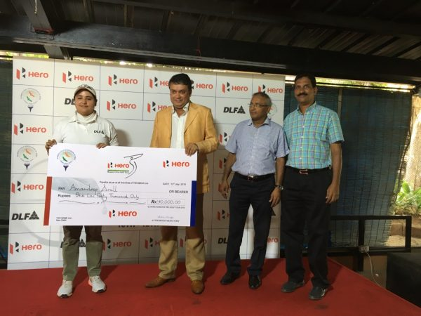 Amandeep Drall_Cheque_Bangalore Golf Club