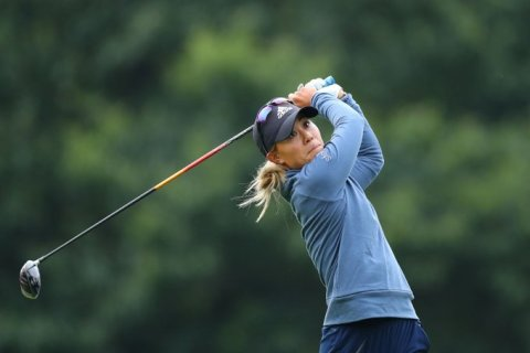 Danielle Kang at the AIG Women's British Open