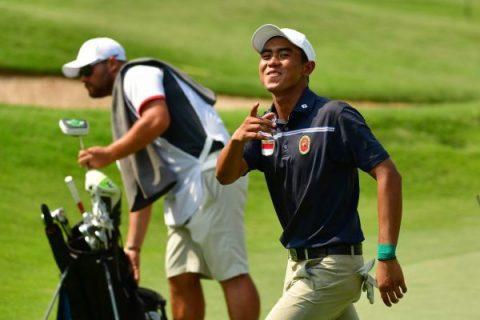 Naraajie Emerald Ramadhan Putra leada penultimate round of Bank BRI Indonesia Open
