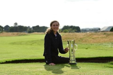 Pia Babnik - R&A Image - Girls Amateur Championship