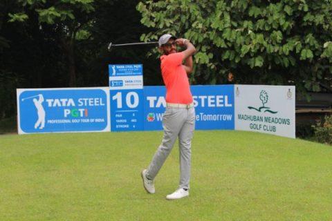Yuvaraj Singh Sandhu leads Rd 2 of Tata Steel PGTI Feeder Tour 2019