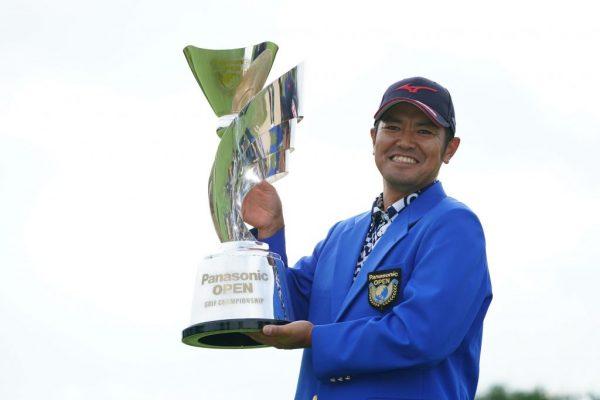Muto wins Panasonic Open Golf Championship