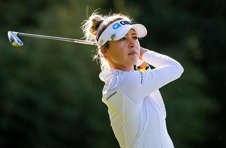 Nelly Korda leads Ladies Open de France