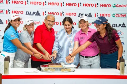 Celebrating 10 years of LET and Hero relation in Hero Women's Indian Open