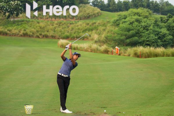 Action from the Hero Challenge where team Europe and team USA battle 4 skill challenges